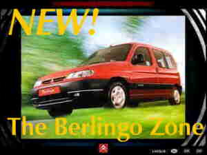 NEW! The Berlingo Zone